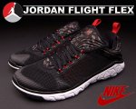 NIKE JORDAN FLIGHT FLEX blk/g.red blk/wht日本正規品 【交換送料無料】