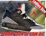 NIKE JORDAN SON OF LOW BG blk/blk-u.rd-gry mst【正規品】【送料無料】