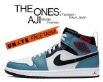 NIKE AIR JORDAN 1 MID SE FACETASM FEARLESS white/black-celestial teal cu2802-100 スニーカー AJ1【正規品】【送料無料】