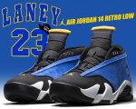 NIKE AIR JORDAN 14 RETRO LOW v.royal/v.mz-blck-wht【正規品】【送料無料】