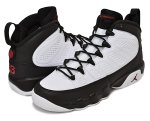 NIKE AIR JORDAN 9 RETRO BG wht/t.red-blk日本正規品 【交換送料無料】