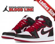 NIKE AIR JORDAN 1 HI OG (GS) BLOODLINE black/gym red-white 575441-062 レディース スニーカー キッズ AJ1 FEARLESS Flight Reimagined【正規品】【送料無料】