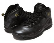 "NIKE AIR JORDAN 10 RETRO ""NYC"" blk/blk-d.gry-m.gold日本正規品 【交換送料無料】"