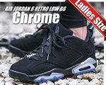 NIKE AIR JORDAN 6 RETRO LOW BG blk/metallic silver-wht【正規品】【送料無料】