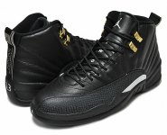 "NIKE AIR JORDAN 12 RETRO ""THE MASTER"" blk/wht-blk-m.gold【正規品】【送料無料】"