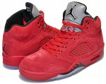 "NIKE AIR JORDAN 5 RETRO ""FLIGHT SUIT""university red/black日本正規品 【交換送料無料】"