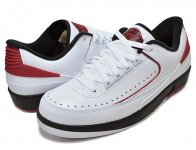 NIKE AIR JORDAN 2 RETRO LOW wht/v.red-blk日本正規品 【交換送料無料】