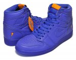 "NIKE AIR JORDAN 1 RETRO HIGH OG G8RD ""BE LIKE MIKE""""GRAPE"" rush violet/rush violet【エア ジョーダン スニーカー GATORADE ゲータレード】【正規品】【送料無料】"