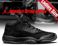 NIKE AIR JORDAN 11 RETRO LOW BG blk/true red-blk日本正規品 【交換送料無料】