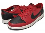 "NIKE AIR JORDAN 1 RETRO LOW OG ""Reversal Bred"" g.red/blk-sail日本正規品 【交換送料無料】"