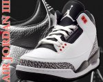 "NIKE AIR JORDAN 3 RETRO ""INFRARED23"" wht/blk-cmnt gry-infrared23日本正規品 【交換送料無料】"