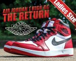 NIKE AIR JORDAN 1 HI THE RETURN BG v.red/blk-wht日本正規品 【交換送料無料】