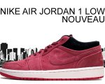 NIKE AIR JORDAN 1 LOW NOUVEAU t.red/t.red-g.red-blk【正規品】【送料無料】