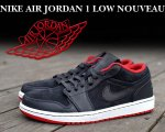 NIKE AIR JORDAN 1 LOW NOUVEAU blk/g.red-wht【正規品】【送料無料】