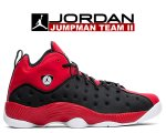 NIKE JORDAN JUMPMAN TEAM II black/black-university red 819175-006 スニーカー AJ JORDAN BRAND日本正規品 【交換送料無料】