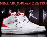 NIKE AIR JORDAN 2 RETRO wht/blk-v.red-c.gry【正規品】【送料無料】