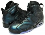 "NIKE AIR JORDAN 6 RETRO AS ""ALL STAR""""GOTTA SHINE"" blk/blk-wht日本正規品 【交換送料無料】"