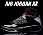 NIKE AIR JORDAN XX blk/sterth-varsity red【正規品】【送料無料】