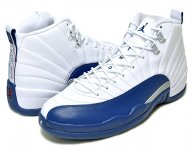 "NIKE AIR JORDAN 12 RETRO ""FRENCH BLUE"" wht/f.blu-m.slv-vrst日本正規品 【交換送料無料】"