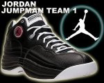 NIKE JORDAN JUMPMAN TEAM 1 blk/blk-v.red-wht【正規品】【送料無料】