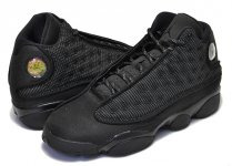 "NIKE AIR JORDAN 13 RETRO BG ""BLACK CAT"" blk/anthraciteblk日本正規品 【交換送料無料】"