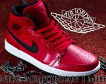 NIKE AIR JORDAN 1 MID g.red/blk-wht【正規品】【送料無料】