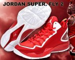 NIKE JORDAN SUPER. FLY 2 PO X s.red/wht【正規品】【送料無料】