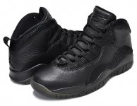 "NIKE AIR JORDAN 10 RETRO ""OVO"" blk/blk-m.gold日本正規品 【交換送料無料】"
