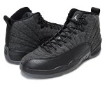 "NIKE AIR JORDAN 12 RETRO ""WOOL"" d.gry/m.slv【正規品】【送料無料】"