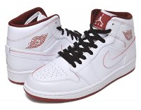 NIKE AIR JORDAN 1 MID wht/g.red-blk【正規品】【送料無料】