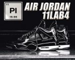 NIKE AIR JORDAN 11LAB4 blk/wht【正規品】【送料無料】