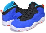 NIKE AIR JORDAN 10 RETRO TINKER racer blue/team orange-black【スニーカー ティンカー ハットフィールド AJ X AIR HUARACHE LIGHT】日本正規品 【交換送料無料】