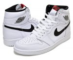 "NIKE AIR JORDAN 1 RETRO HIGH OG ""YIN YANG"" wht/blk-wht【正規品】【送料無料】"