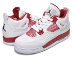 "NIKE AIR JORDAN 4 RETRO BG ""ALTERNATE '89"" wht/blk-g.red【正規品】【送料無料】"