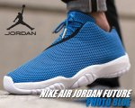 NIKE AIR JORDAN FUTURE LOW p.blu/blk-wht【正規品】【送料無料】