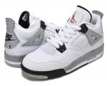 NIKE AIR JORDAN 4 RETRO OG BG wht/f.red-blk-t.gry【正規品】【送料無料】