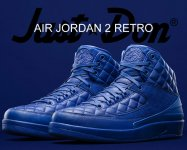 NIKE AIR JORDAN 2 RETRO DON C bright bl/m.gld-u.rd【正規品】【送料無料】