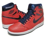 "NIKE AIR JORDAN 1 RETRO HIGH OG ""David Letterman"" l.crmsn/m.nvy-u.blu-wht日本正規品 【交換送料無料】"