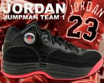 NIKE JORDAN JUMPMAN TEAM 1 blk/infrared 23日本正規品 【交換送料無料】